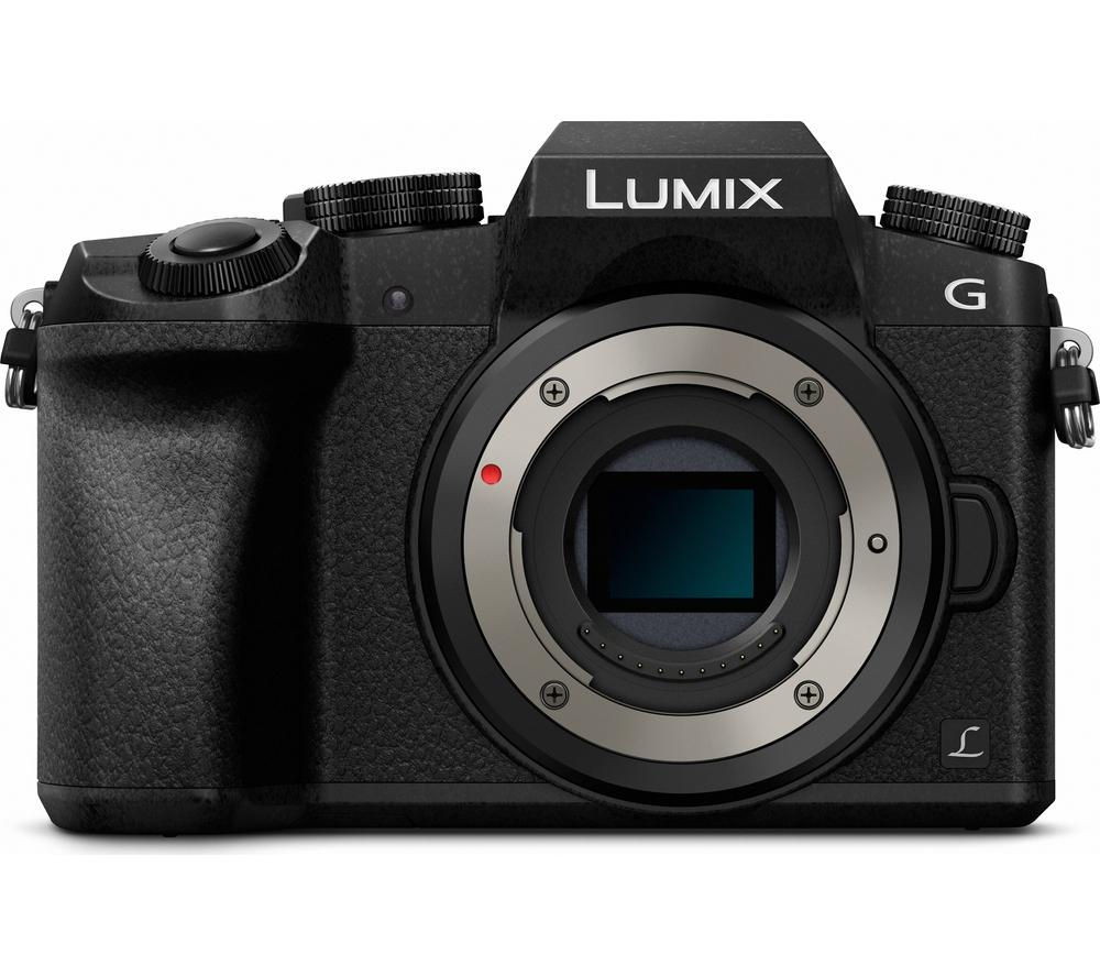 PANASONIC Lumix DMC-G7EB-K Mirrorless Camera – Black, Body Only
