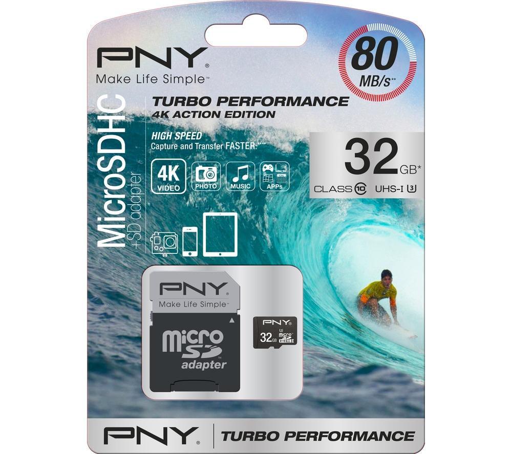 PNY Turbo 32GB MicroSD Card
