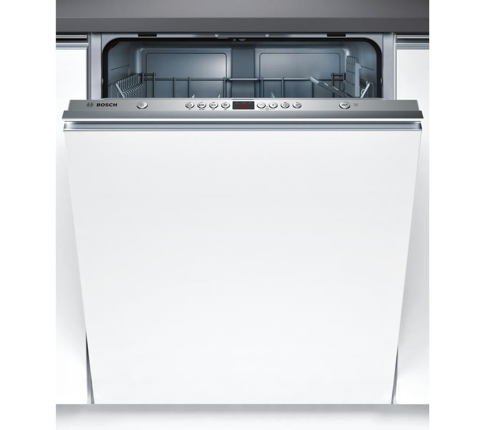 BOSCH  SMV43L10GB Full-Size Integrated Dishwasher +  WIS24141GB Full-size Integrated Washing Machine - White