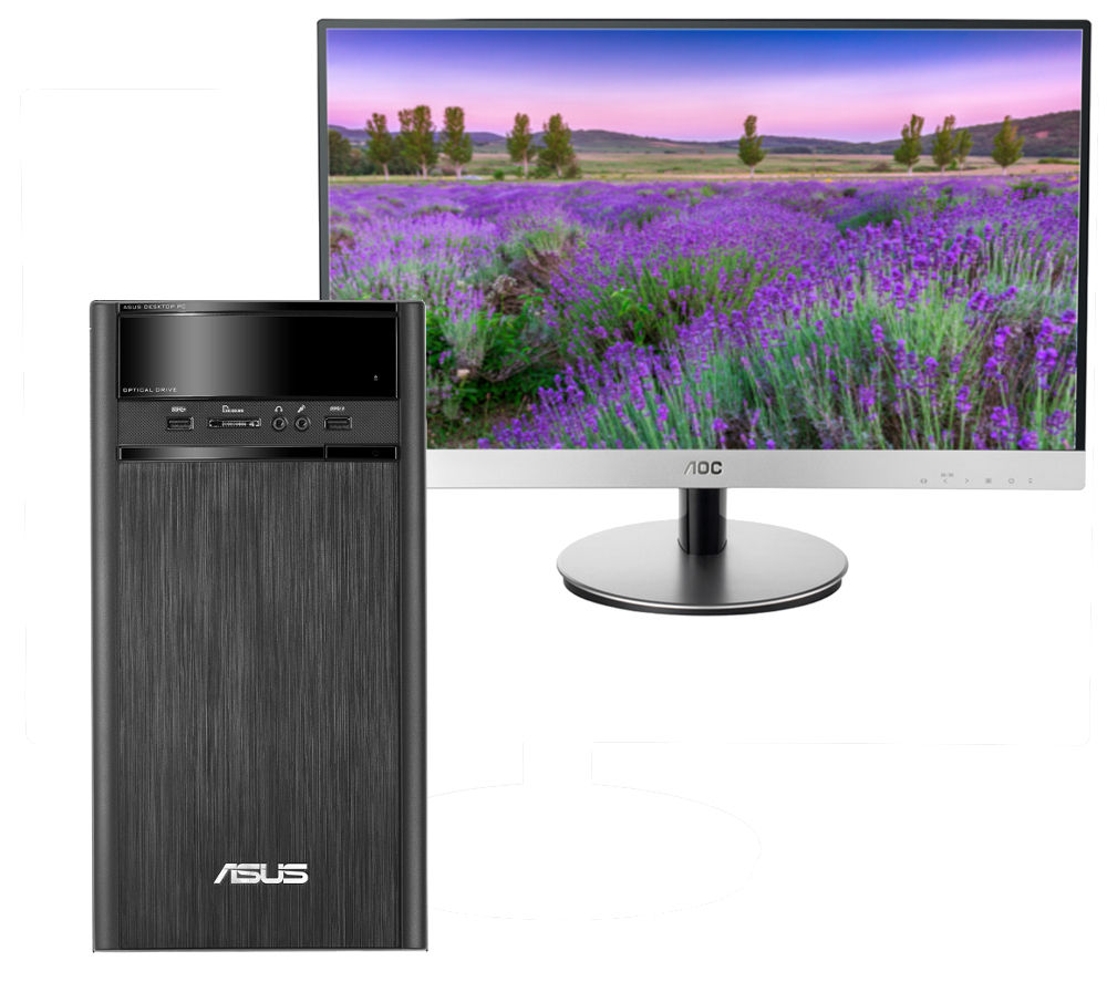 "Buy ASUS K31ADE Desktop PC with i2369Vm Full HD 23"" IPS ..."