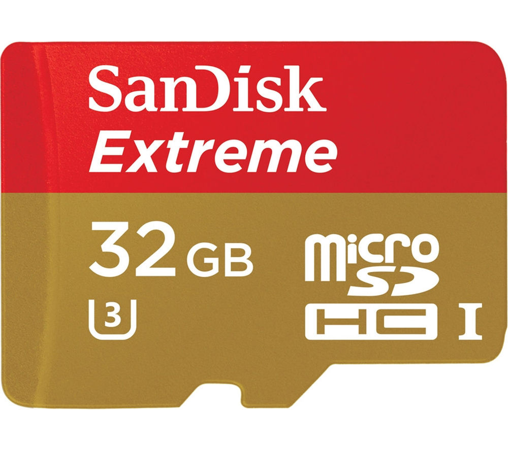 SANDISK Extreme Class 10 microSDHC Memory Card - 32 GB