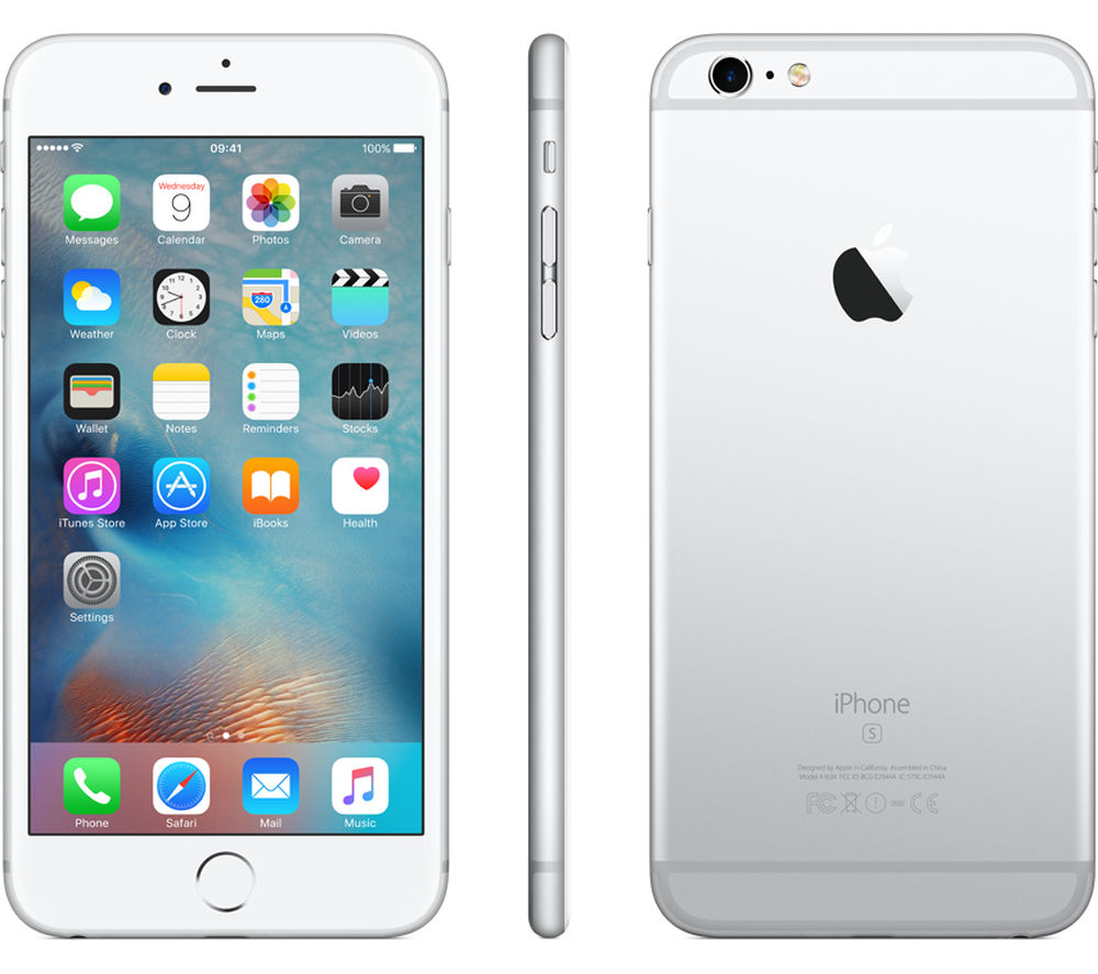 apple iphone 6s plus 64 gb silver deals pc world. Black Bedroom Furniture Sets. Home Design Ideas