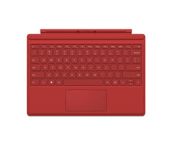 MICROSOFT Surface Pro 4 Typecover - Red