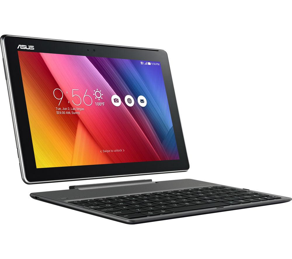 "ASUS ZenPad Z300C 10"" Tablet & Keyboard - 16 GB, Black"