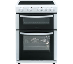 LOGIK LFTG60W16 60 cm Electric Ceramic Cooker - White