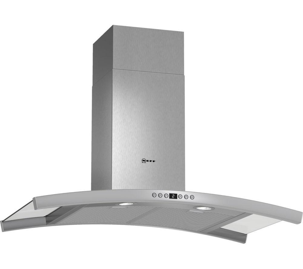 buy neff d89dk62n0b chimney cooker hood stainless steel. Black Bedroom Furniture Sets. Home Design Ideas
