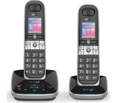 BT 8610 Cordless Phone with Answering Machine - Twin Handsets