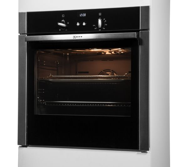 Neff B44S32N5GB Slide & Hide Electric Built in Single Oven