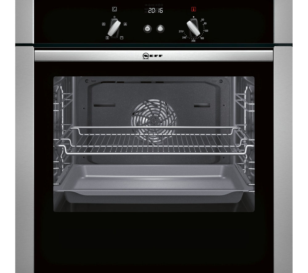 NEFF  B44S32N5GB Slide & Hide Electric Oven  Stainless Steel Stainless Steel