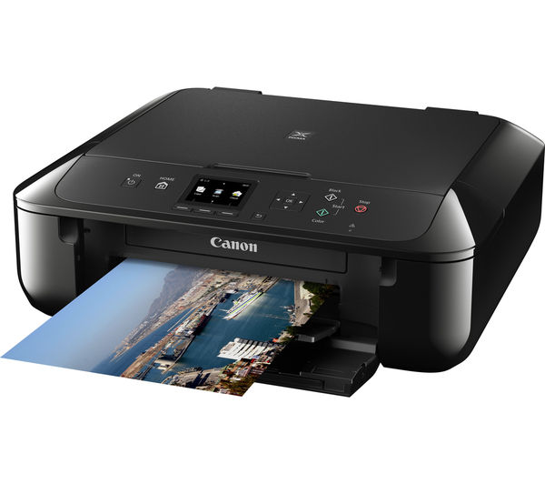 canon pixma mg5750 all in one wireless inkjet printer deals pc world. Black Bedroom Furniture Sets. Home Design Ideas