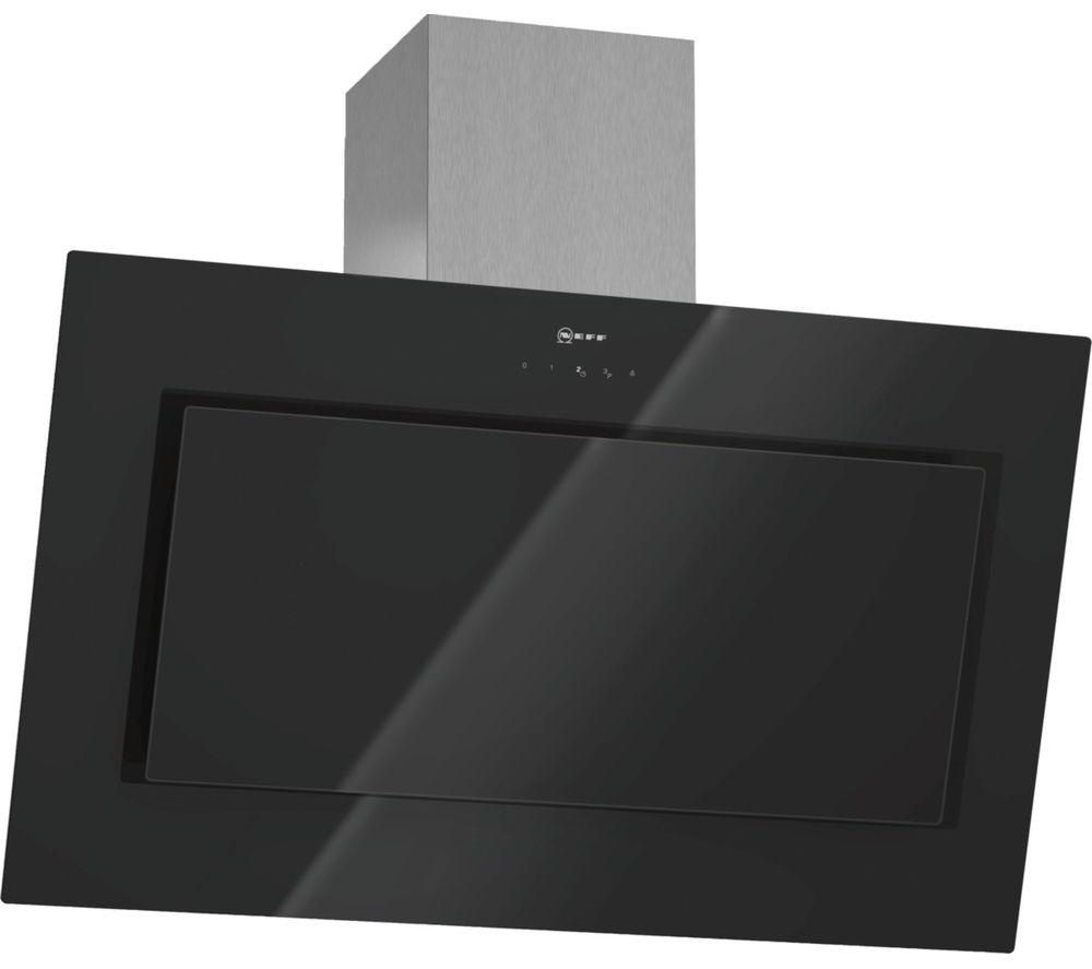 buy neff d39e49s0gb chimney cooker hood black free. Black Bedroom Furniture Sets. Home Design Ideas