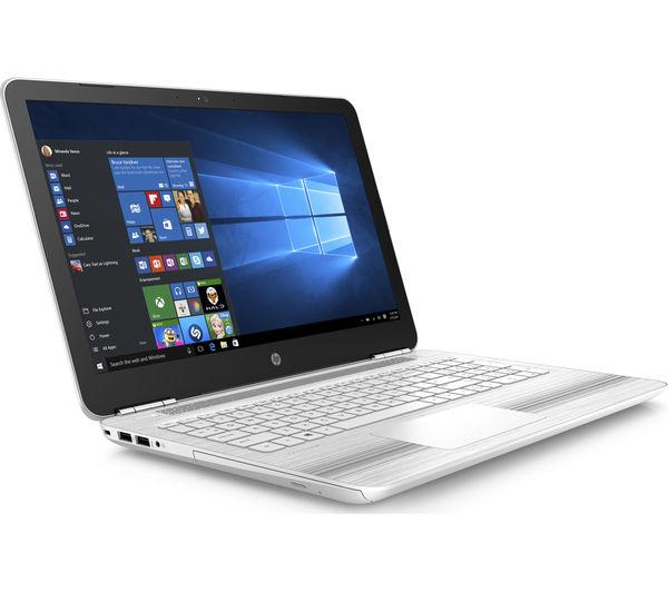 "Image of HP Pavilion 15-au072sa 15.6"" Laptop - White"