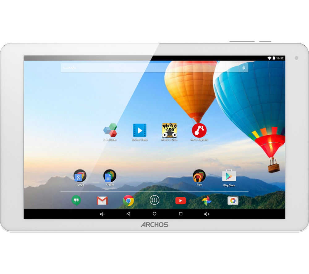 "Image of Archos 101b Xenon 10.1"" 3G Tablet - 16 GB, Silver, White"