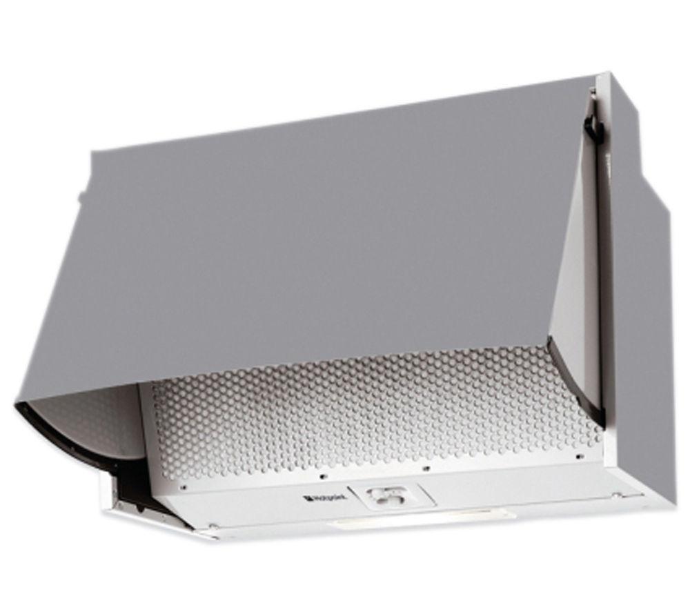 buy hotpoint htn41 integrated cooker hood grey free. Black Bedroom Furniture Sets. Home Design Ideas