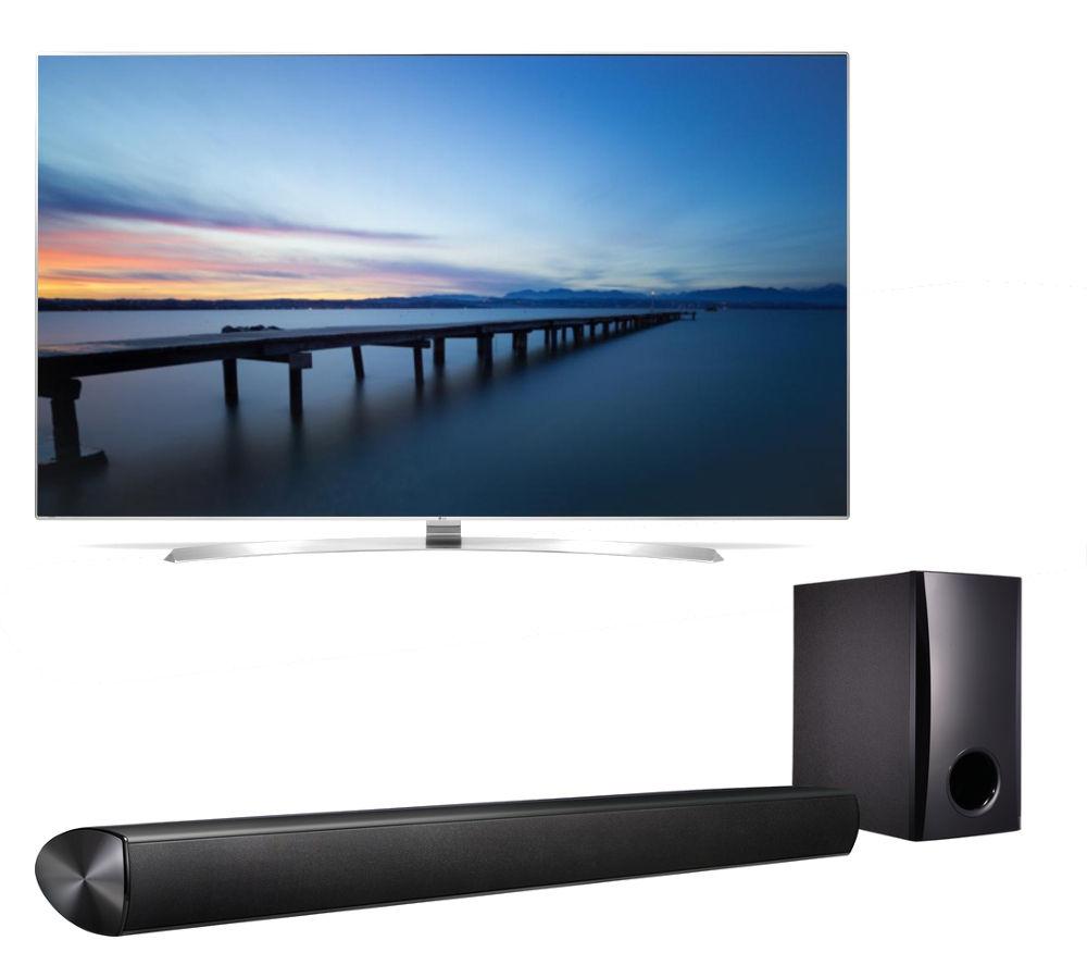 buy lg 55uh950v smart 3d 4k ultra hd hdr 55 led tv 2 1. Black Bedroom Furniture Sets. Home Design Ideas