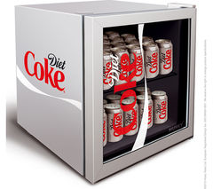 Husky Diet Coke HUS-HY209-HU Mini Fridge – Silver