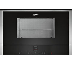 NEFF C17GR00N0B Built-in Microwave with Grill - Stainless Steel