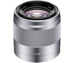 SONY E 50 mm f/1.8 OSS Standard Prime Lens