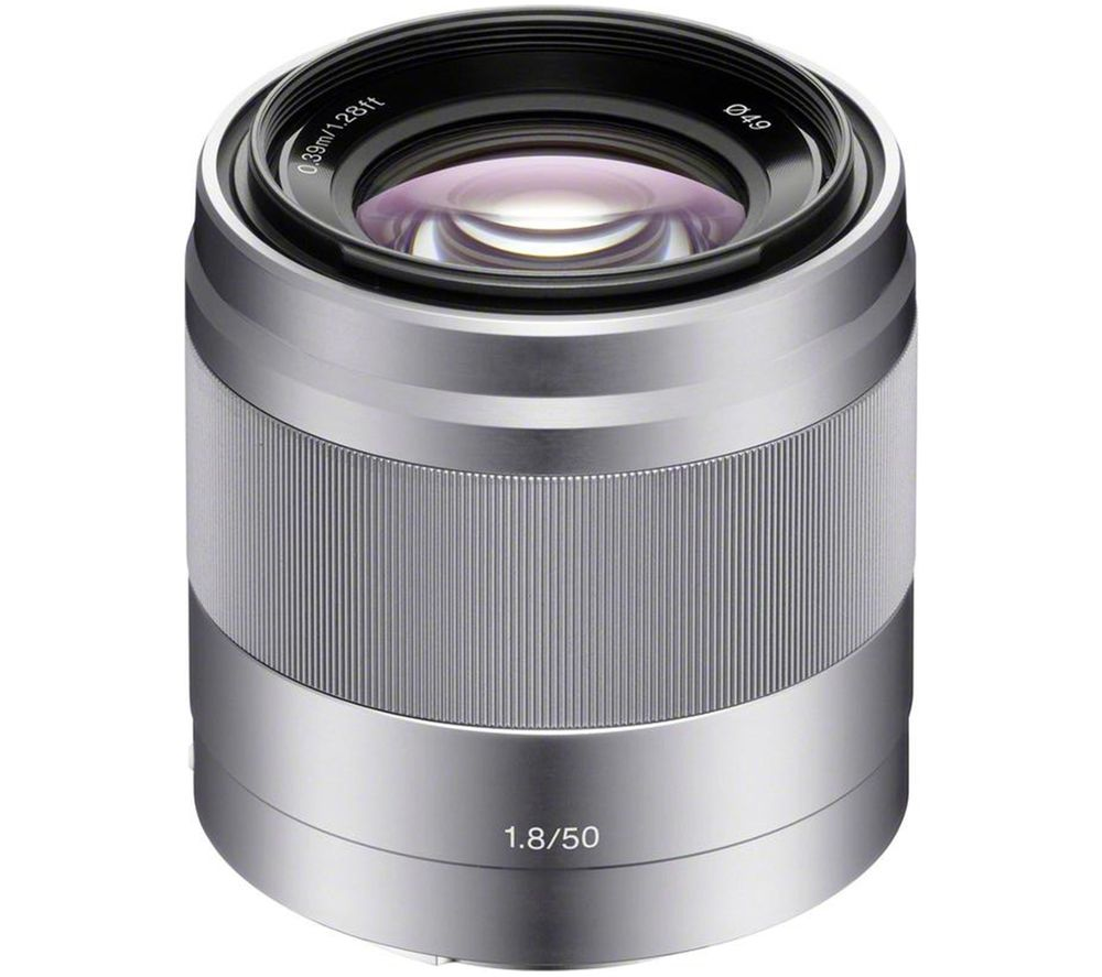 Sony SONY  E 50 mm f/1.8 OSS Standard Prime Lens