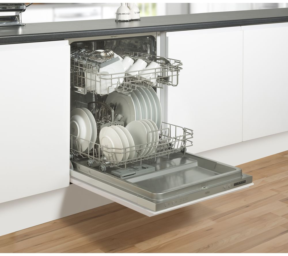 Buy belling bel idw60 full size integrated dishwasher for Miele küchenm bel