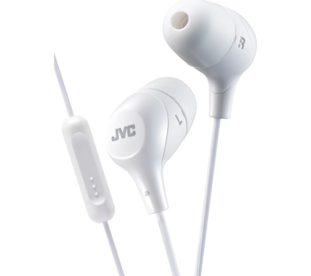 JVC HA-FX38M-W-E Headphones - White
