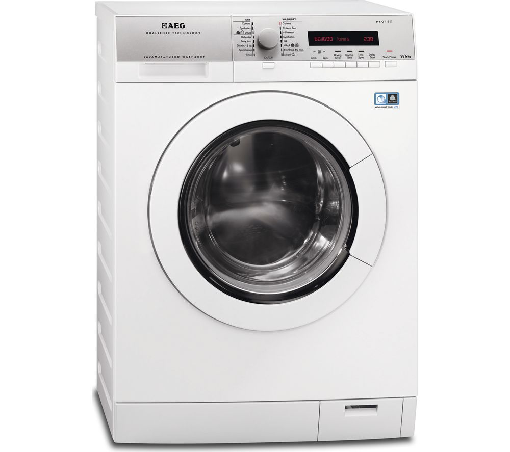 AEG  L77695NWD Washer Dryer  White White