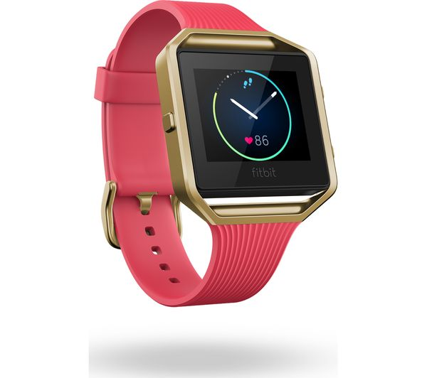 FITBIT Blaze - Slim Pink & Gold, Small Deals | PC World