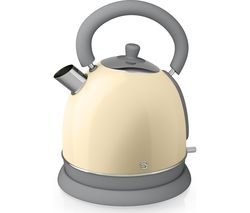 SWAN Retro SK261020CN Traditional Kettle - Cream