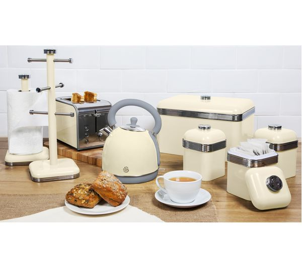 4 Slice Cream Toaster Buy Smeg Tsf02cruk 4 Slice Toaster