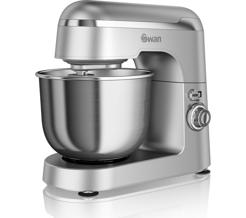 Buy swan retro sp25010sn stand mixer silver free for Small retro kitchen
