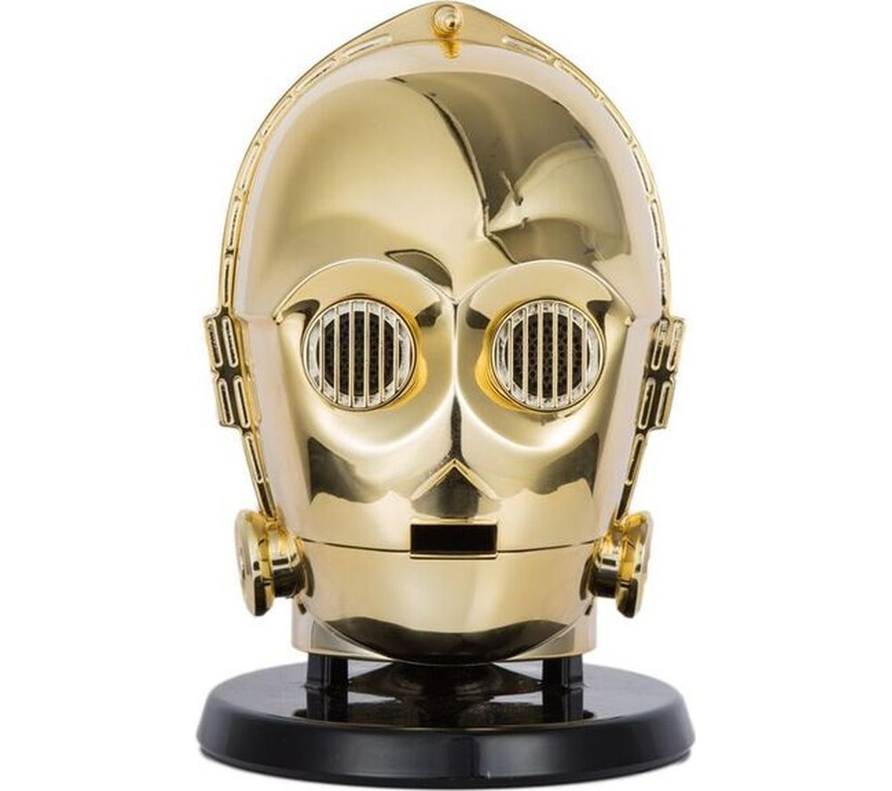 Click to view more of STAR WARS  C-3PO Portable Wireless Speaker - Gold, Gold