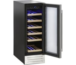 MONTPELLIER WS19SDX Wine Cooler - Stainless Steel