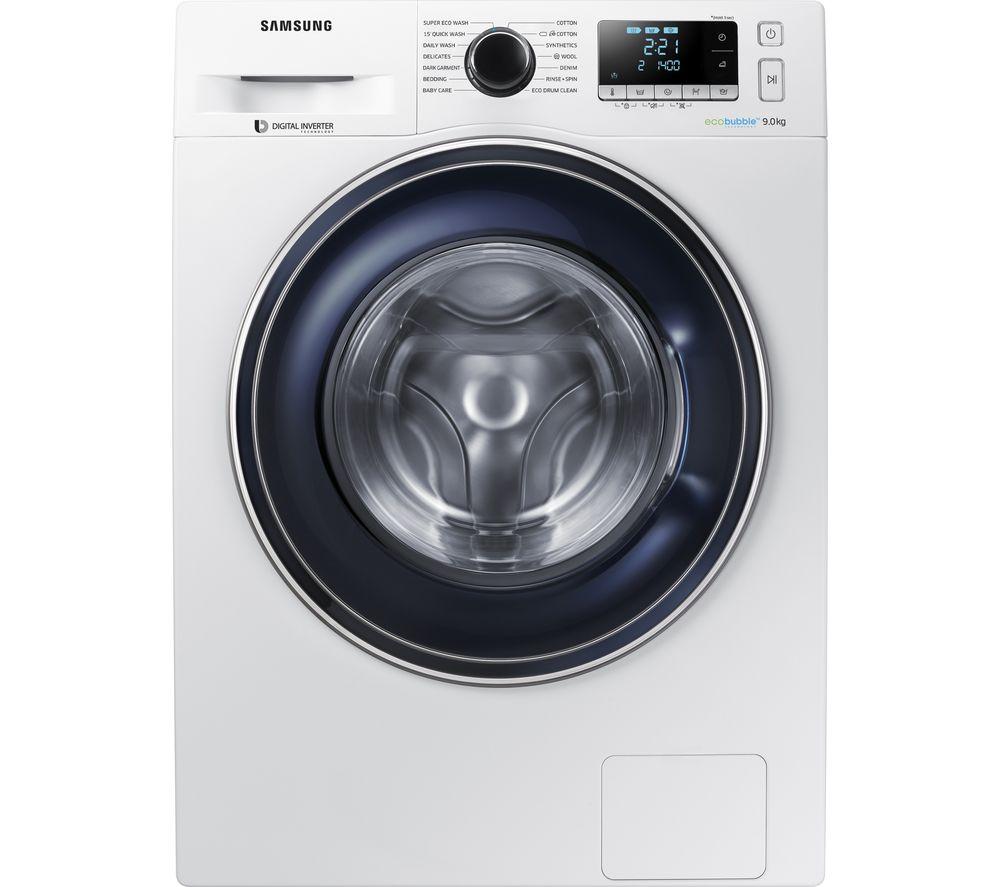 SAMSUNG WW90J5456FW/EU 9 kg 1400 Spin Washing Machine - White