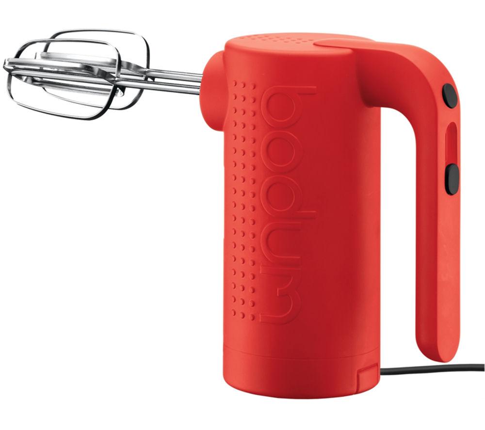 Red Hand Mixer ~ Bodum bistro hand mixer red