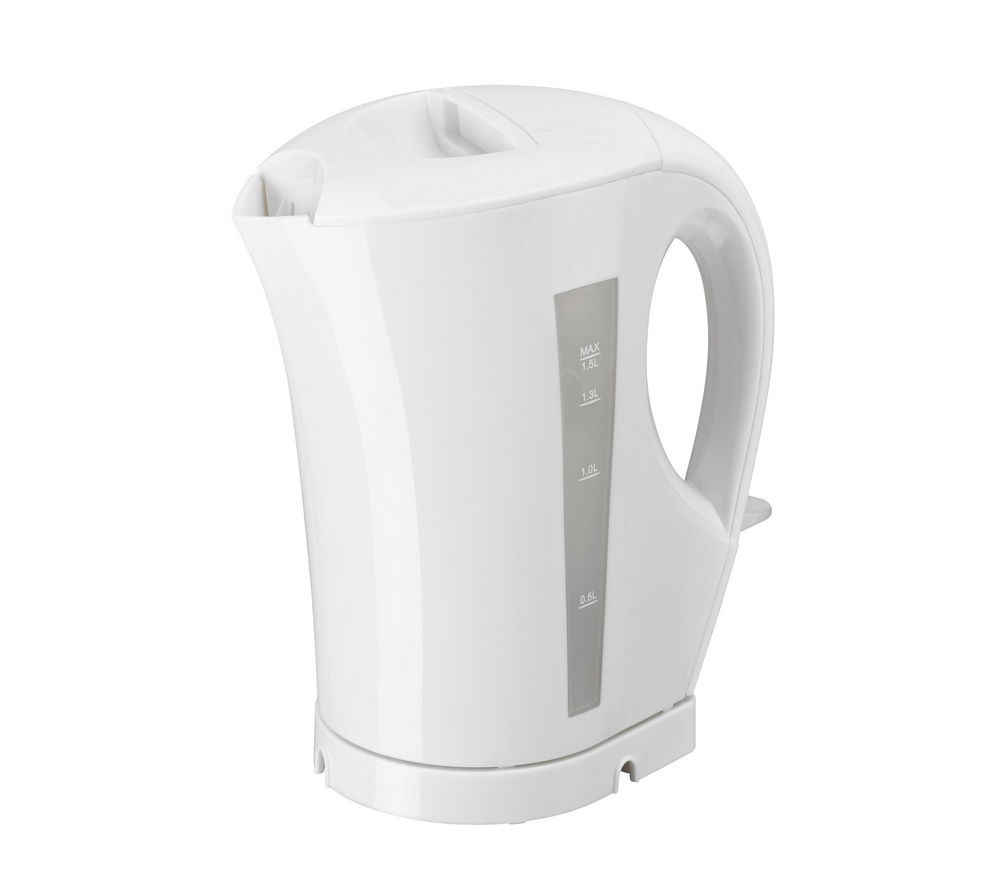 ESSENTIALS C15JKW13 Jug Kettle - White