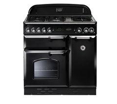 RANGEMASTER Classic 90 LPG Range Cooker - Black & Chrome