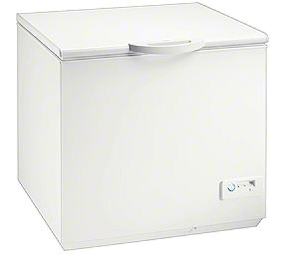ZANUSSI  ZFC627WAP Chest Freezer - White +  ZDH8333W Heat Pump Tumble Dryer - White