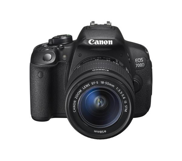 how to turn on lcd screen on canon 700d