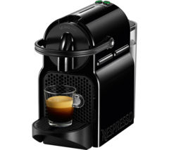 NESPRESSO by Magimix Inissia 11360 Coffee Machine & Aeroccino - Black