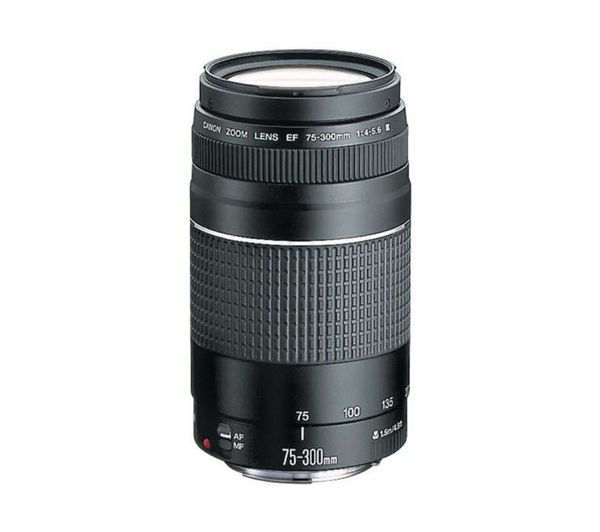 CANON  EF 75-300 mm f/4.0-5.6 III USM Telephoto Zoom Lens +  DSLR Cleaning Kit