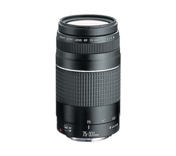 CANON EF 75-300 mm f/4.0-5.6 III USM Telephoto Zoom Lens