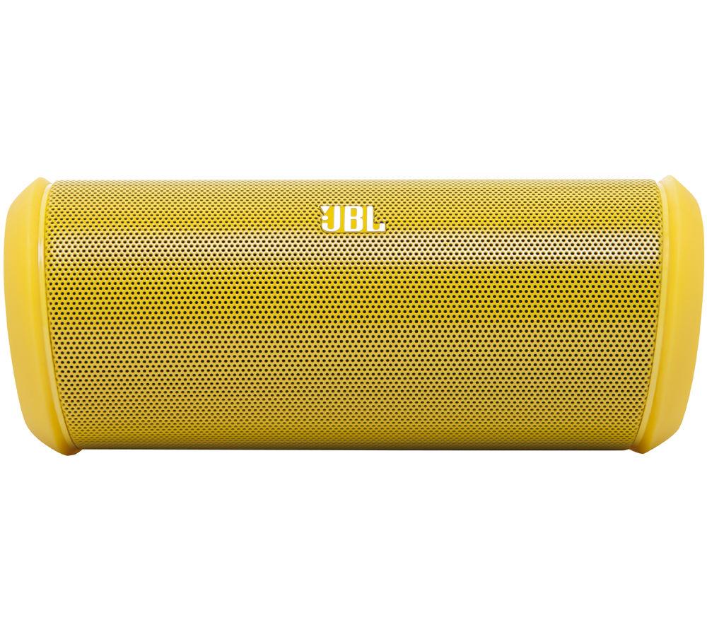jbl flip 2 portable wireless speaker yellow. Black Bedroom Furniture Sets. Home Design Ideas