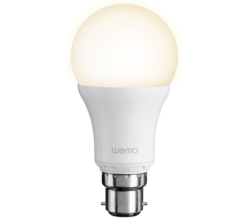 BELKIN F7C033vfB22 WeMo Smart LED Bulb - White