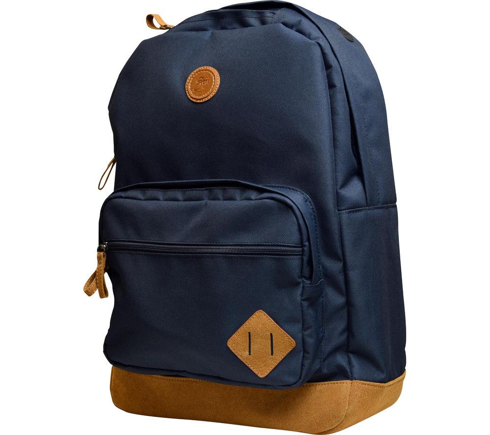 """GOJI GSBPBL15 15.6"""" Laptop Backpack - Blue"""