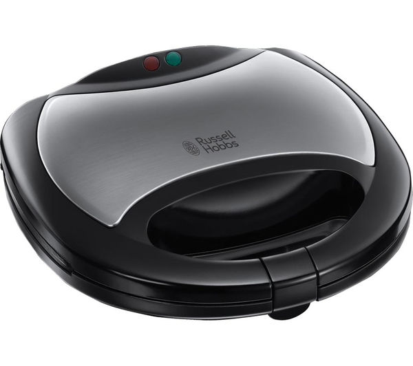 Russell Hobbs 20930 3in1 Sandwich Toaster  Black & Silver Black