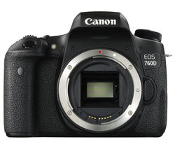 CANON EOS 760D DSLR Camera - Body Only