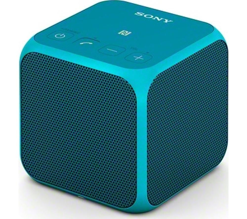 Click to view more of SONY  SRS-X11L Portable Wireless Speaker - Blue, Blue