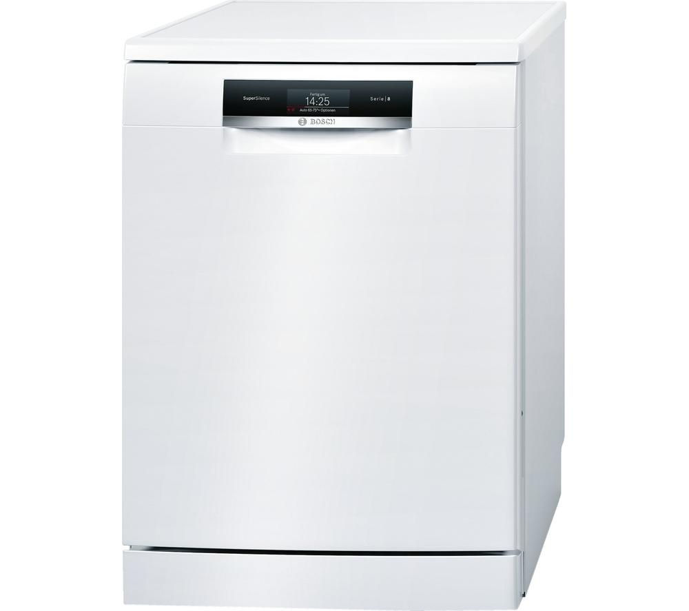 Image of BOSCH SMS88TW02G Full-size Dishwasher - White, White