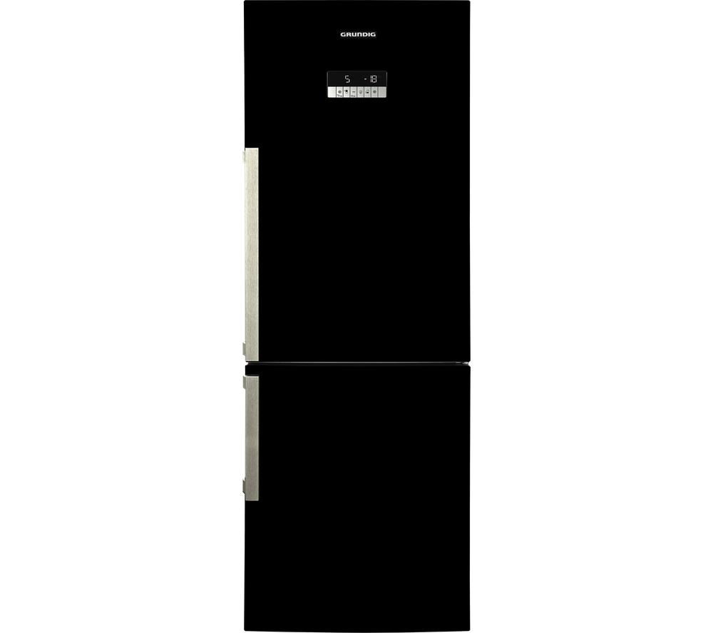 GRUNDIG GKN16820B Fridge Freezer - Black