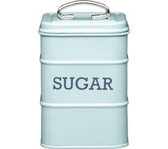 KITCHEN CRAFT Living Nostalgia Vintage Sugar Tin - Blue